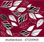 abstract autumn background | Shutterstock .eps vector #37154905