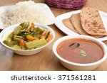 Mix Veg Avial With Parathas ...