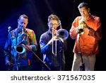 Small photo of BARCELONA - MAY 27: Antibalas (afrobeat band) in concert at Heineken Primavera Sound 2014 Festival (PS14) on May 27, 2014 in Barcelona, Spain.