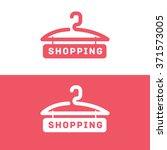 shopping logo. online store...   Shutterstock .eps vector #371573005