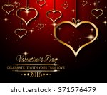 valentine's day background for... | Shutterstock . vector #371576479