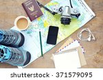 planning vacation concept. | Shutterstock . vector #371579095