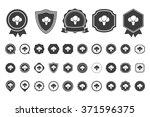 broccoli  icon | Shutterstock .eps vector #371596375