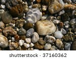 stones under water | Shutterstock . vector #37160362