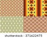seventies wallpapers | Shutterstock .eps vector #371622475