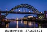 tyne bridge   newcastle quayside   Shutterstock . vector #371638621