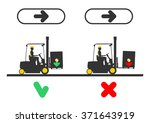 dangers during operation a... | Shutterstock .eps vector #371643919