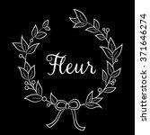 floral shop    logo  poster ... | Shutterstock .eps vector #371646274