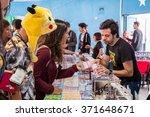 faro  portugal   august 22 ... | Shutterstock . vector #371648671