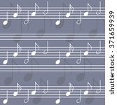 seamless music pattern with... | Shutterstock .eps vector #371659939
