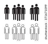 man icon illustration design | Shutterstock .eps vector #371671099