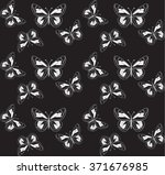 seamless pattern with... | Shutterstock .eps vector #371676985