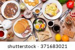 breakfast table | Shutterstock . vector #371683021