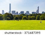 new york   september 19  views... | Shutterstock . vector #371687395