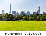 new york   september 19  views...   Shutterstock . vector #371687395