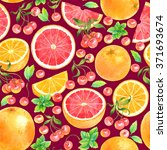 seamless watercolor pattern... | Shutterstock . vector #371693674
