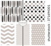 repeating patterns for digital...   Shutterstock .eps vector #371694301