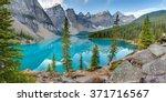 Moraine Lake In Banff National...