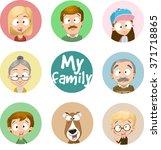 vector cartoon character... | Shutterstock .eps vector #371718865