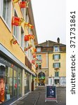 Small photo of SOLOTHURN, SWITZERLAND - JANUARY 2, 2015: Street in the Old City of Solothurn. Solothurn is the capital of the Solothurn canton in Switzerland. It is located on the banks of the Aare river