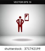 phone  businessman symbol