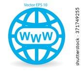 www web vector illustration | Shutterstock .eps vector #371749255