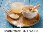 different types of gelatin ... | Shutterstock . vector #371765311
