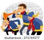 vector illustration of a three... | Shutterstock .eps vector #371769277