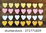 Small Cute Heart Candies Of...