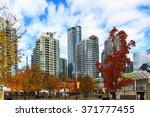 toronto  canada   16 10 2015  a ... | Shutterstock . vector #371777455