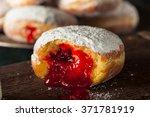 Homemade Sugary Paczki Donut...