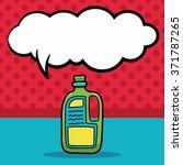 detergent doodle  speech bubble | Shutterstock .eps vector #371787265