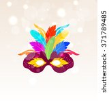 illustration colorful carnival... | Shutterstock . vector #371789485