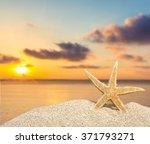 beach. | Shutterstock . vector #371793271