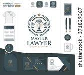 law logo law firm law office...   Shutterstock .eps vector #371829367