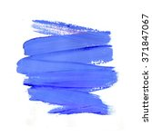 violet watercolor paint stain... | Shutterstock . vector #371847067