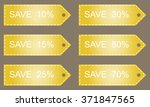 discount labels. shopping sale... | Shutterstock .eps vector #371847565