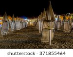 Night View Of A Bathouse On The ...