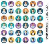 young business people   icons...   Shutterstock .eps vector #371874664