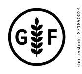 gluten free food allergy... | Shutterstock .eps vector #371890024