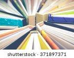 book   magazine   vintage... | Shutterstock . vector #371897371