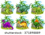 Six Dinosaurs In The Forest...