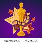 vector illustration of yellow... | Shutterstock .eps vector #371925061