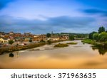 Blurred The River Nith At...