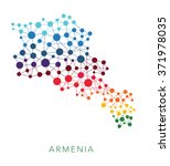 dotted texture armenia vector... | Shutterstock .eps vector #371978035
