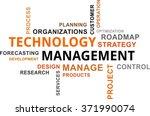 a word cloud of technology...   Shutterstock .eps vector #371990074