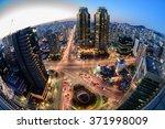Korea Seoul City Skyline At...