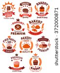 Bakery And Pastry Shop Symbols...