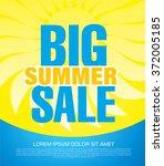 summer sale banner | Shutterstock .eps vector #372005185