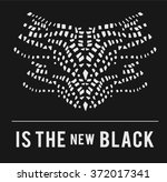 black type slogan for clothing  | Shutterstock .eps vector #372017341